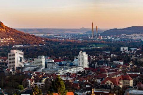 View to Jena