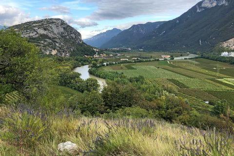Weitblick auf die Südtiroler Landschaft