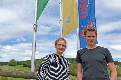Verena Sonnenberg und Thomas Schmid von Eurofun Touristik
