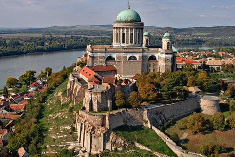 View over the Basilica of Esztergom