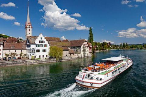 Boat at Stein am Rhein