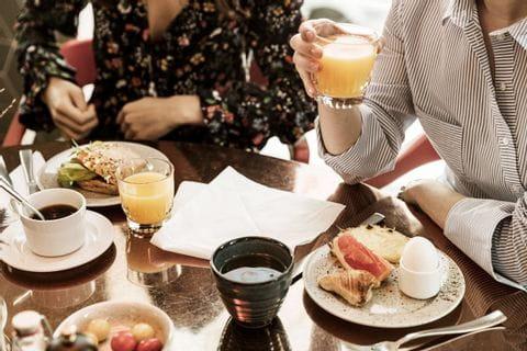 Frühstück im Hotel Atrium Scandic