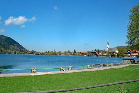 View over Lake Schliersee