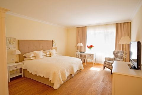Zimmerbeispiel Hotel Pienzenau in Merano