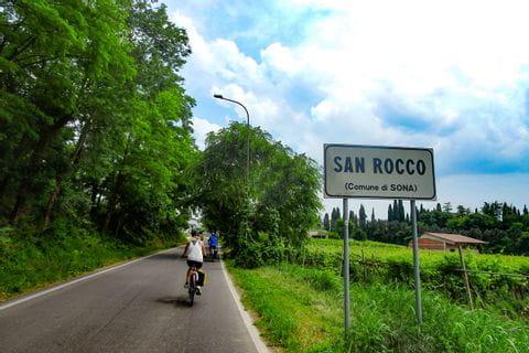 San Rocco Ortsschild