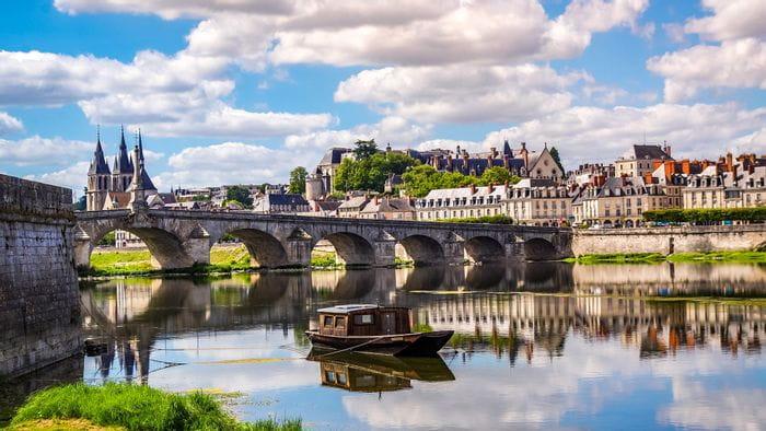Rad & Schiff in Frankreich