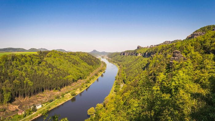River course of the Elbe